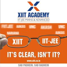 "Completely student centric institute where students say –"" I owe my success to XIIT Academy."" . www.xiit.co.in"