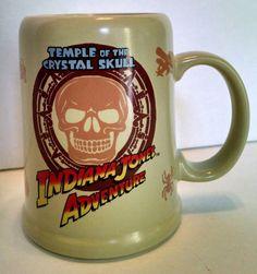 Tokyo Sea Disney Indiana Jones Adventure Coffee Mug Temple Of The Crystal Skull