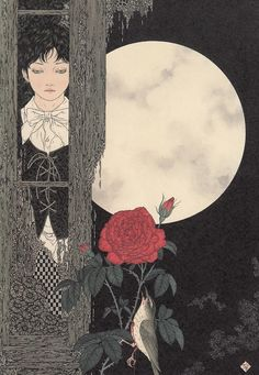 Takato Yamamoto. Beautiful, disturbing, gory, occasionally religious... I like a lot of his work.