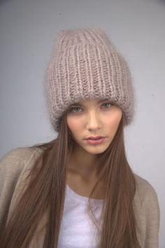 DOUBLE HAT в три нити (норка)
