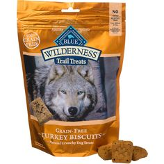Blue Buffalo Wilderness Trail Treats Grain-Free Dog Biscuits in Turkey Flavor (10 oz) - $6.39 at Petco