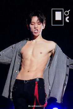 I need to get all angles of baekhyun w/o a shirt