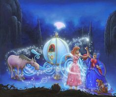 Disney Fine Art Dreams Come True by James C Mulligan