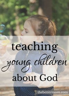 If you have a young child who is curious about God but not sure how to help them understand, this is a great way to teach young children about God!