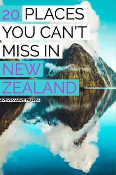 20 Most Beautiful Places in New Zealand! There are so many top beauties of New Zealand and you will not want to miss these photos of New Zealand. Beautiful Places To Visit, Cool Places To Visit, Places To Travel, Travel Destinations, Travel Stuff, Scenery Photography, Night Photography, Landscape Photography, New Zealand Landscape