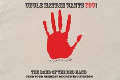 Band of the Red Hand T-Shirt  Time to roll the dice!