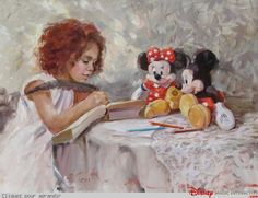 Irene Sheri (peintures) - Disney Magic Interactive
