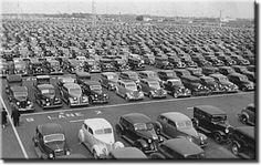 1939 New York World's Fair Parking Lot.