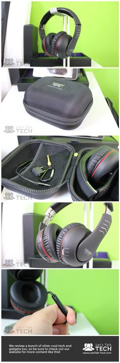 Lindy Cromo NCX-100 #headphone review. This thing features both noise cancellation and bass modes. Check out the full review on www.LetsTalk-Tech.com!