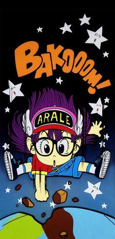 La GRAN Arale de Akira Toriyama Comic Anime, Anime Comics, Anime Manga, Akira, Geeks, Illustration Manga, Illustrations, Otaku, Design Comics