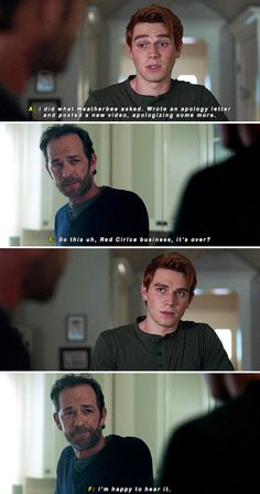 """Riverdale 2x05 - """"I've been missing my son"""""""