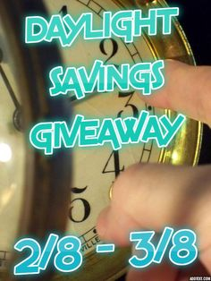 Enter to #win the Daylight Savings #Giveaway ~ 5 Winners, Almost $800 ARV! ~ Ends 3/8 - Davids DIY