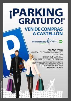 Campaña para la concejalía de Comercio y asociaciones de comerciantes de Castellón