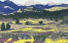Gordon Mortensen : Arizona Flowers, 1988
