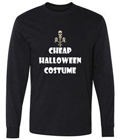 Cheap Halloween Costume Long Sleeve T-Shirt