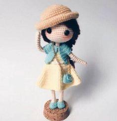Mesmerizing Crochet an Amigurumi Rabbit Ideas. Lovely Crochet an Amigurumi Rabbit Ideas. Little Mermaid Crochet, Crochet Girls, Cute Crochet, Crochet Crafts, Crochet Toys, Crochet Projects, Amigurumi Doll Pattern, Crochet Doll Pattern, Crochet Patterns Amigurumi