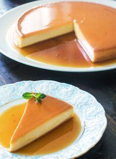 Φλάν μεταξένιο με τυρί κρέμα και ζαχαρούχο γάλα (Video) | Συνταγές - Sintayes.gr