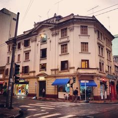The first building at General Jardim street, from the 20's  Sao Paulo - Brazil