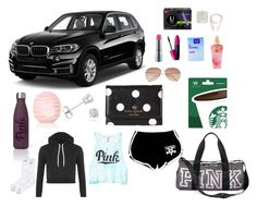 """What's in my car"" by call-me-birdie on Polyvore featuring Revlon, MAC Cosmetics, Topshop, Kate Spade, Amanda Rose Collection, NIKE, Victoria's Secret, Clean & Clear, H&M and ban.do"