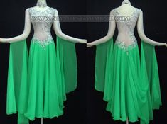 custom made ballroom dress