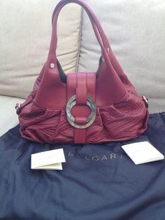 "e4a128dcd9b Bulgari ""Chandra leather medium shoulder bag"