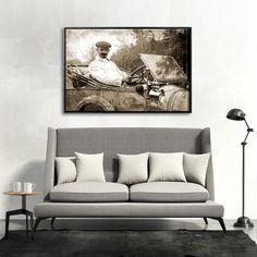 ZA KIEROWNICĄ  MIXGALLERY transport,automobile,wallart,canvas,canvas print,home decor, wall,framed prints,framed canvas,artwork,art