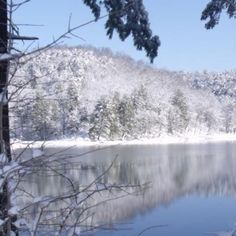 Beautiful picture of The Douthat State Park on February 20, 2012