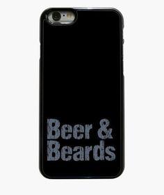 Creative Phone case beer & beards