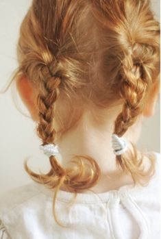 braids.Can't wait to be able to do this to Ry's hair!
