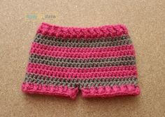 Simple Striped Shorts The pattern below can be viewed forFREE or you can purchase the PDF for $1 Materials: Worsted Weight Yarn (2 Colors) Yarn Needle Size I 5.5 mm hook Abbreviations: Sl st-Slip Stitch Ch-Chain Sc-Single Crochet Hdc-Half Double Crochet FpHdc- Front Post Half Double Crochet BpHdc- Back Post Half Double Crochet Gauge Hdc [...]