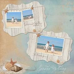 Beachy card templates