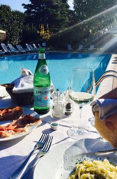Autumn lunch at the Ristorante Salgari - Hotel Saccardi & Spa