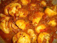 Mushroom Gravy - Famous Indian Recipes