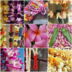 flower leis from Hawaii
