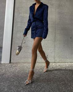 Streetwear Fashion, Trendy Outfits, Leather Skirt, Wrap Dress, Street Wear, Shirt Dress, Elegant, Fitness, Skirts