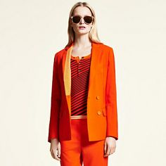 Tommy Hilfiger Hilfiger Collection Blazer - spicy orange-pt (Gelb / Orange) - Tommy Hilfiger Hilfiger Collection - Hauptbild