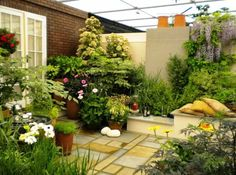 70 Gambar Taman Bunga Terbaik Taman Desain Taman Kebun Kecil