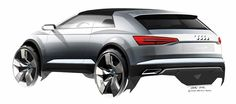 AUDI crosslane plug-in hybrid coupe