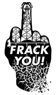 #guerrilla #poster #art  against #fracking