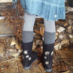 Felt Boots, Fashion, Moda, Fashion Styles, Fashion Illustrations