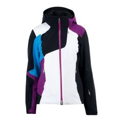 Spyder Women's Hera Jacket (Black/Gypsy/Coast) Ski Jackets Women's Jackets
