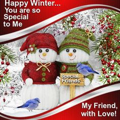Winter/Friends & Family section. Let your friends know that they are special this winter. Permalink : http://www.123greetings.com/events/winter/friends/you_are_so_special_4.html