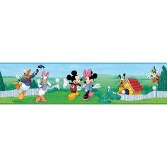 Wallhogs Disney Mickey and Friends Room Border Wall Mural