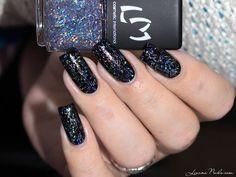 LMcosmetic - Flitters n°3 #Lizananails #Fallmani #darkpolish  #nailblogger Download #beautyapp - BELLASHOOT to see more!