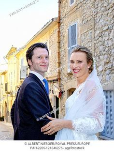 Joachim Albrecht Prince of Prussia.and Angelina Gr?fin zu Solms-Laubach, Stock Photo, Picture And Rights Managed Image. Pic. PAH-2206-121846280 | agefotostock Stock Pictures, Stock Photos, Margrave, Germany And Prussia, Royal Weddings, Ferdinand, Photo Library, Prince, Wedding Dresses