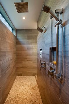 The most creative Walk-In Shower Ideas you can use to design your new shower without doors. Find the best designs for There's a doorless shower design for everyone. Bad Inspiration, Bathroom Inspiration, Dream Bathrooms, Beautiful Bathrooms, Small Bathrooms, Modern Bathrooms, Narrow Bathroom, Bathroom Renos, Master Bathroom