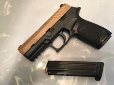 My Sig P 320 with the Carry grip & 17 +1 rounds of 9mm.