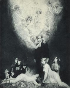 The C. Sharp Minor Quartet by Norman Lindsay