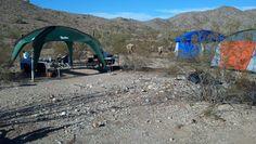a PahaQue campsite  #camping  #desert  #arizona  #pahaque
