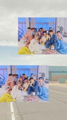 Chibi Wallpaper, Kawaii Wallpaper, Cute Wallpaper Backgrounds, Cute Wallpapers, K Pop Boy Band, Boy Bands, Kpop, Starship Entertainment, Lock Screen Wallpaper